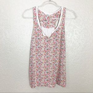 EUC Splendid Floral Printed sleeveless tank top